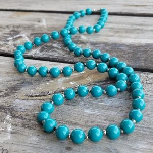 Jewelry - 📚 3/$10 Teal necklace